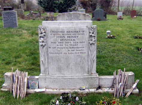 John Bonham Tombstone - JohnBonham.co.uk