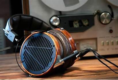 Planar Magnetic Headphones Bass Speakers Head Gadget