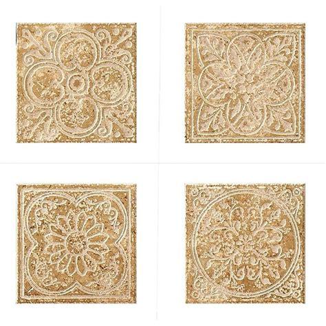 tile kitchen backsplashes marazzi montagna cortina 6 in x 6 in porcelain embossed
