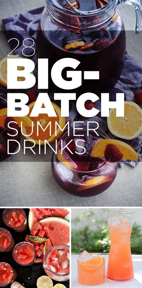 big batch cocktails 28 big batch summer drinks that know how to get down puppys discount codes and summer punch