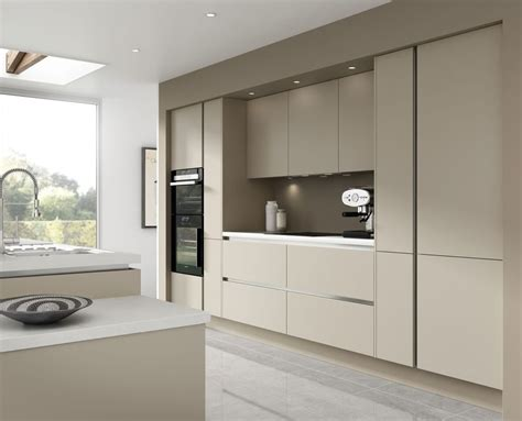 kitchen units design 7 kitchen units warm grey handless kitchen rigid 3415