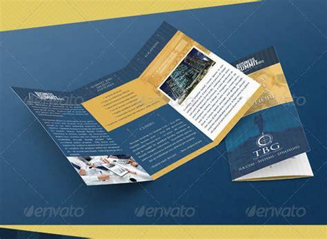 Brochure Templates Photoshop by Tri Fold Brochure Photoshop Template Csoforum Info