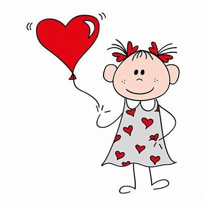 Cartoon Heart Loved Hearts Valentine Unconditionally God