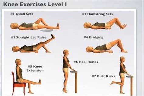 simple exercises for oa knees level i simple fitness