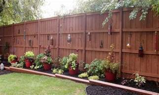 Back Yard Privacy Fence Idea