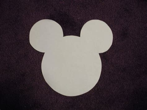 Mickey Mouse Silhouette Cut On The Cameo  Joy Studio
