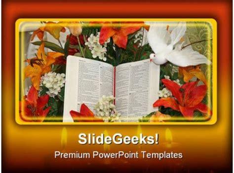 bible  dove religion powerpoint templates