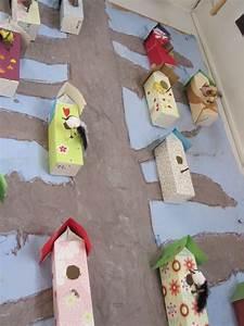 Basteln Sommer Grundschule : vogelh uschen aus milch kartons basteln pinterest haus v gel und vogelh user ~ Frokenaadalensverden.com Haus und Dekorationen