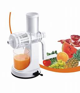 Fruit And Vegetable Juicer With Vacuum Base Hane Manual