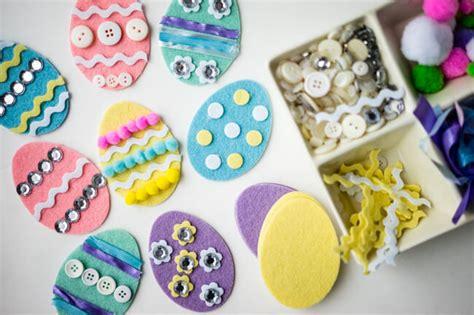 easter crafts for reader s digest 379 | 17 Felt Easter Egg Easy Easter Crafts that Kids Can Make