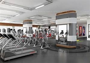 Gym 3D Interior