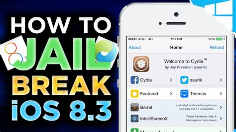 how to jailbreak iphone 4s taig how to jailbreak ios 8 3 untethered iphone 6 plus How T