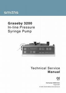 Graseby 500 Service Manual
