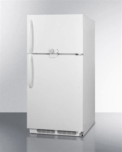 foto de Summit® 20 5 Cu Ft White Top Freezer Refrigerator