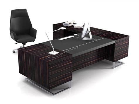 bureau desk modern executive office design 4 black
