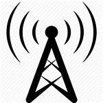 Radio Antenna Icon Icons Station Mast Base