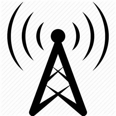 Radio Antenna Icon Icons Station Base Gsm