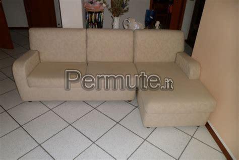 Scambio Divano - divano chaise longue bologna usato in permuta arredamento