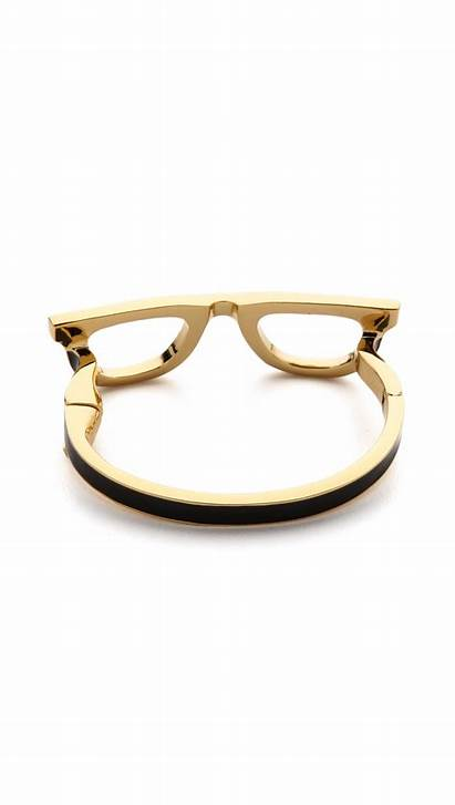 Spade Kate Bracelet Bangle Glasses Goreski Metallic