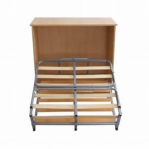 lit pliant avec meuble ventemeublesonline With meuble lit