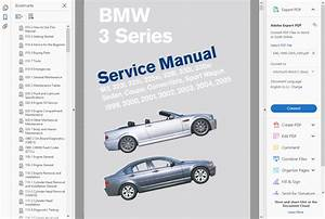 Factory Workshop Service Repair Manual Bmw 3 Series E46 1999
