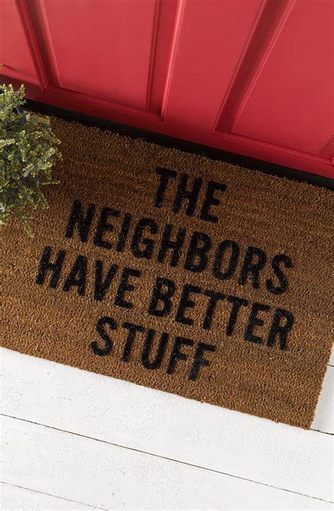 Beautiful Welcome Mats by Welcome Visitors And Put Potential Burglars With