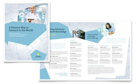 Brochure Design Services by Global Network Services Brochure Template Word Publisher