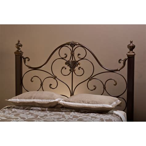 Mikelson Antique Gold Queen Headboard Only Hillsdale