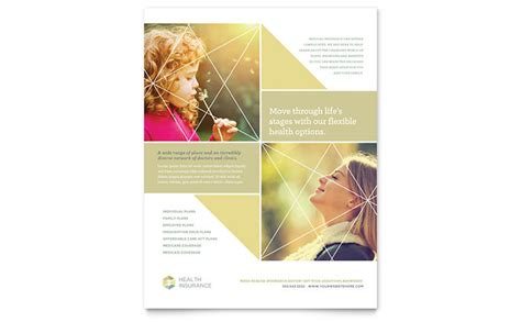 health insurance flyer template word publisher