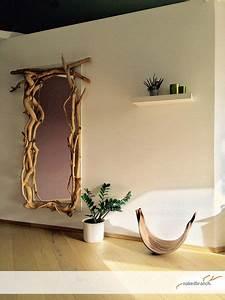Holz Und Raum : spiegel nakedbranch wandspiegel mit sten wildholz ein ~ A.2002-acura-tl-radio.info Haus und Dekorationen