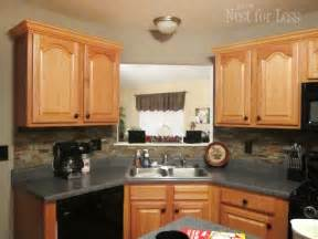 kitchen crown molding ideas mini makeover crown molding on my kitchen cabinets how to nest for less