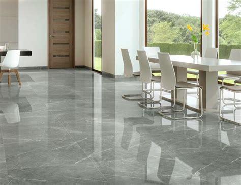 Polished Porcelain Tiles grey polished porcelain tiles marble effect