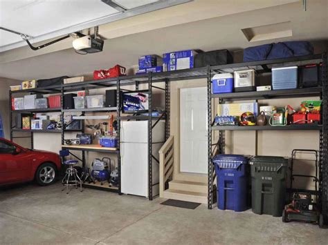 garage storage shelving systems shelving ideas for every garage hgtv