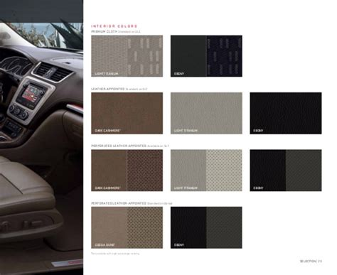 gmc acadia digital brochure