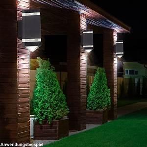 Terrassen Beleuchtung Außen : balkon terrassen leuchte up down lampe au en wand beleuchtung hof weg haus licht ebay ~ Sanjose-hotels-ca.com Haus und Dekorationen