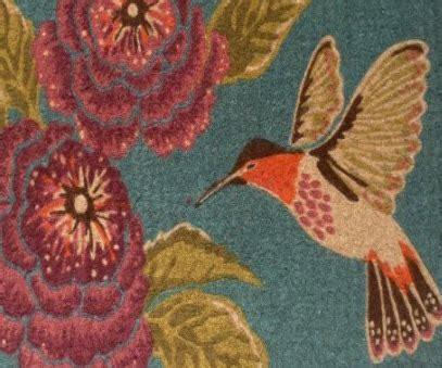 Hummingbird Rug by Hummingbird Rugs Hummingbirds Plus