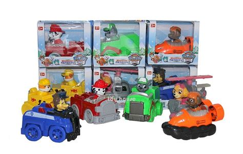 Mainan Paw Patrol Figure jual mainan anak laki laki figure paw patrol dus set of 6