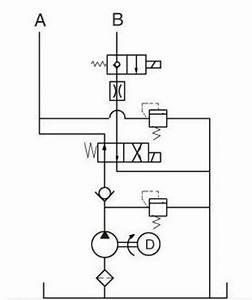 12v dc hydraulic power pack for trailer tipping system With system schematic wiring diagram for ac dynamic lowering hoist control