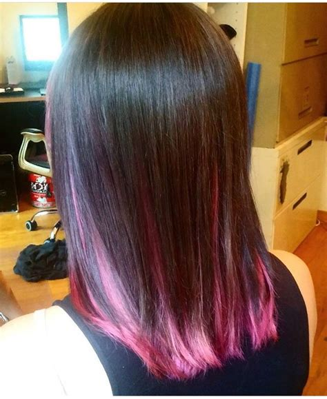 Best 20 Brown And Pink Hair Ideas On Pinterest Pink Dip