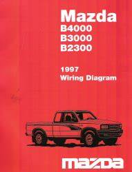 1997 Mazda Protege Radio Wiring Diagram : 1997 mazda b4000 b3000 b2300 factory wiring diagram ~ A.2002-acura-tl-radio.info Haus und Dekorationen