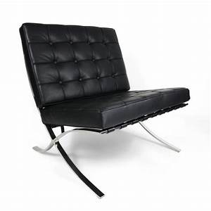 Replica ludwig mies van der rohe barcelona chair for Imitation barcelona chair