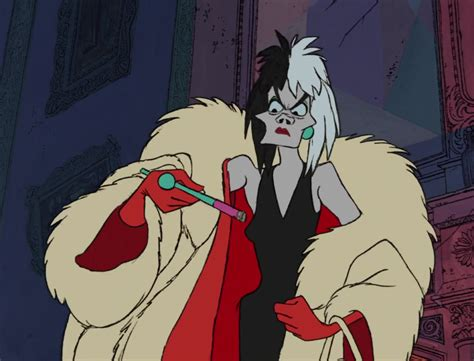 Cruella Denfer Personnage Dans Les 101 Dalmatiens
