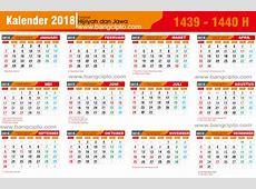 Gratis Template Kalender 2018 PDF Lengkap libur Nasional