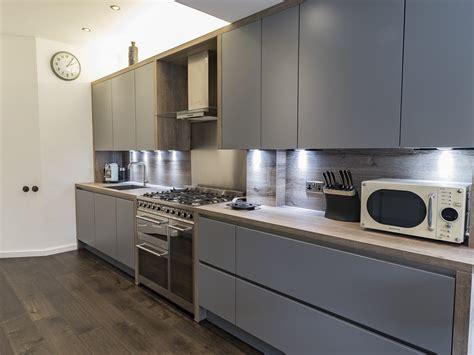 Handleless Leicht Kitchen Ealing London  Richmond Kitchens