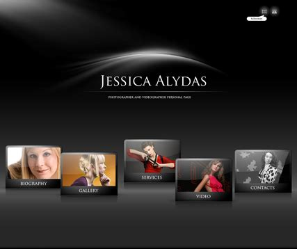 Best Photographer Website by Photographer Gallery Flash Template Best Website Templates