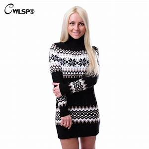 online get cheap snowflake sweater dress aliexpresscom With robe pull de noel