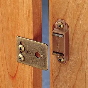 """3/8"""" Inset Magnetic Catch Rockler Woodworking and Hardware"""
