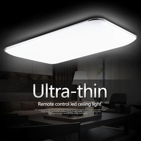 modern minimalist ultra thin modern square led ceiling