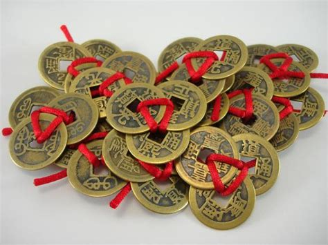 Feng Shui Money Luck Talisman-coins Tied By Fengshuiearth