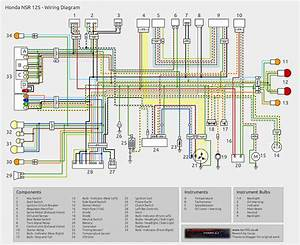 Honda Wave 110 Wiring Diagram